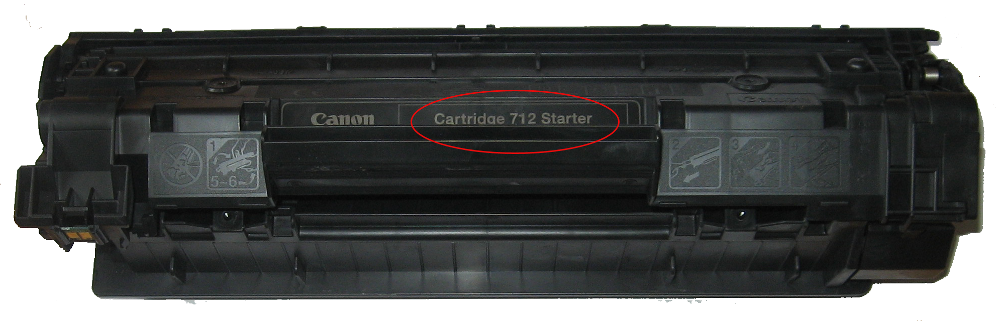 Инструкция заправка canon laser lbp 3010 картридж 712 starter